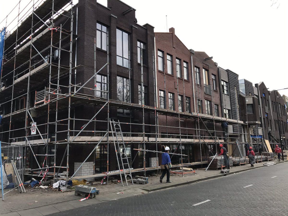 """""""Nieuwe gevels sieren de Hoflaan in Vlaardingen"""""""